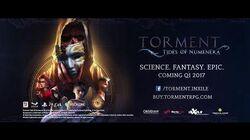 Torment Tides of Numenera Gamescom 2016 Trailer