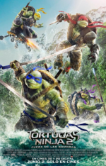 Póster oficial de TMNT2 Out os Shadows.png