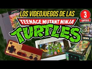 Cap3- VIDEOJUEGOS de Las TORTUGAS NINJA
