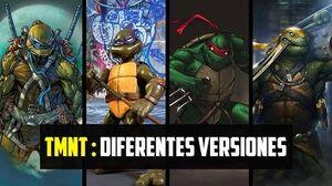 Las diferentes versiones de las Tortugas Ninjas (4K)