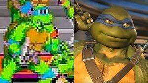 Evolution of Teenage Mutant Ninja Turtles Games 1989-2018