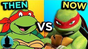 The Evolution of Teenage Mutant Ninja Turtles Channel Frederator