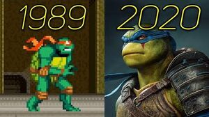 Evolution Of Ninja Turtles (TMNT) Games 1989-2020