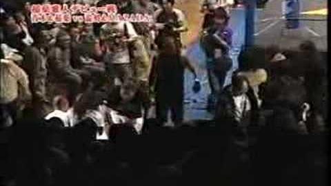 東京愚連隊(NOSAWA論外・MAZADA)vs稲葉雅人・スパーク青木