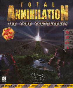 Total Annihilation: The Core Contingency Box Cover