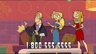 Blaineley, Bridgette and Geoff