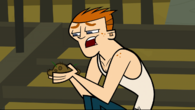 Scott eating dirt
