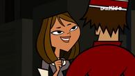 Courtney flirting with Tyler