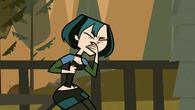 Gwen nearly pukes