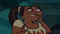 Leshawna laughing