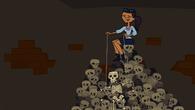 Jen Skeleton Puppet