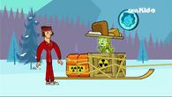 Yukon radioactive sled