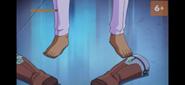 Brick left feet