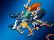 Evil Hotel Sam, Britney, Clover, Alex