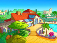 Clover's mansion exterior