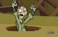 S04E12 Ezekiel wskakuje z powrotem do dziury