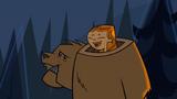 S01E06 Izzy po zdjęciu głowy niedźwiedzia