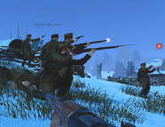 Imperial Russian Army troops Przemysl