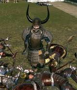Ieyasu fleeing