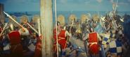 Acre wall battle