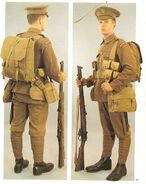 British WWI uniform