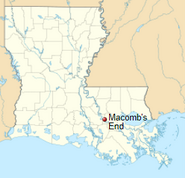 Macomb's End location