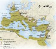 Roman Empire 120 CE