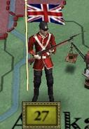 British soldier 1876