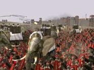 Carthaginian elephants siege