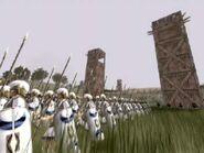 Carthaginian siege army