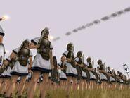 Carthaginian troops onager shots