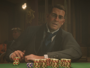 Arthur Morgan gambling