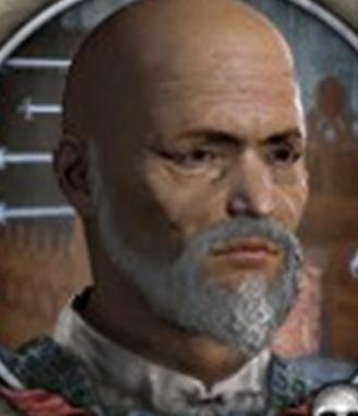 Chief Kubasar of Altay