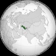 Uzbekistan location