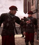 Papal troops