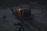 Arizona Kid stagecoach getaway