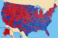 1976 presidential election map