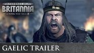 Total War THRONES OF BRITANNIA - Gaelic Cinematic Trailer