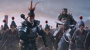 Total War Three Kingdoms pantalla