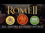 Total War- Rome II - All Empire Divided Faction Intros-Briefings