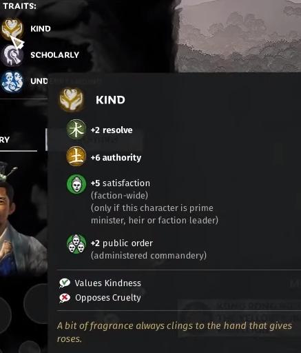 Traits (Total War: Three Kingdoms)