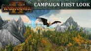 Total War WARHAMMER 2 - First Look Campaign Map