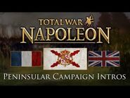 Napoleon- Total War - All Peninsular Campaign Faction Intros