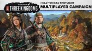 Total War THREE KINGDOMS - Multiplayer Campaign Spotlight