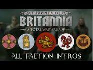 Total War Saga- Thrones of Britannia - All Faction Intros-Briefings