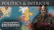 Total War Saga Thrones of Britannia - Politics & Intrigue Feature Spotlight
