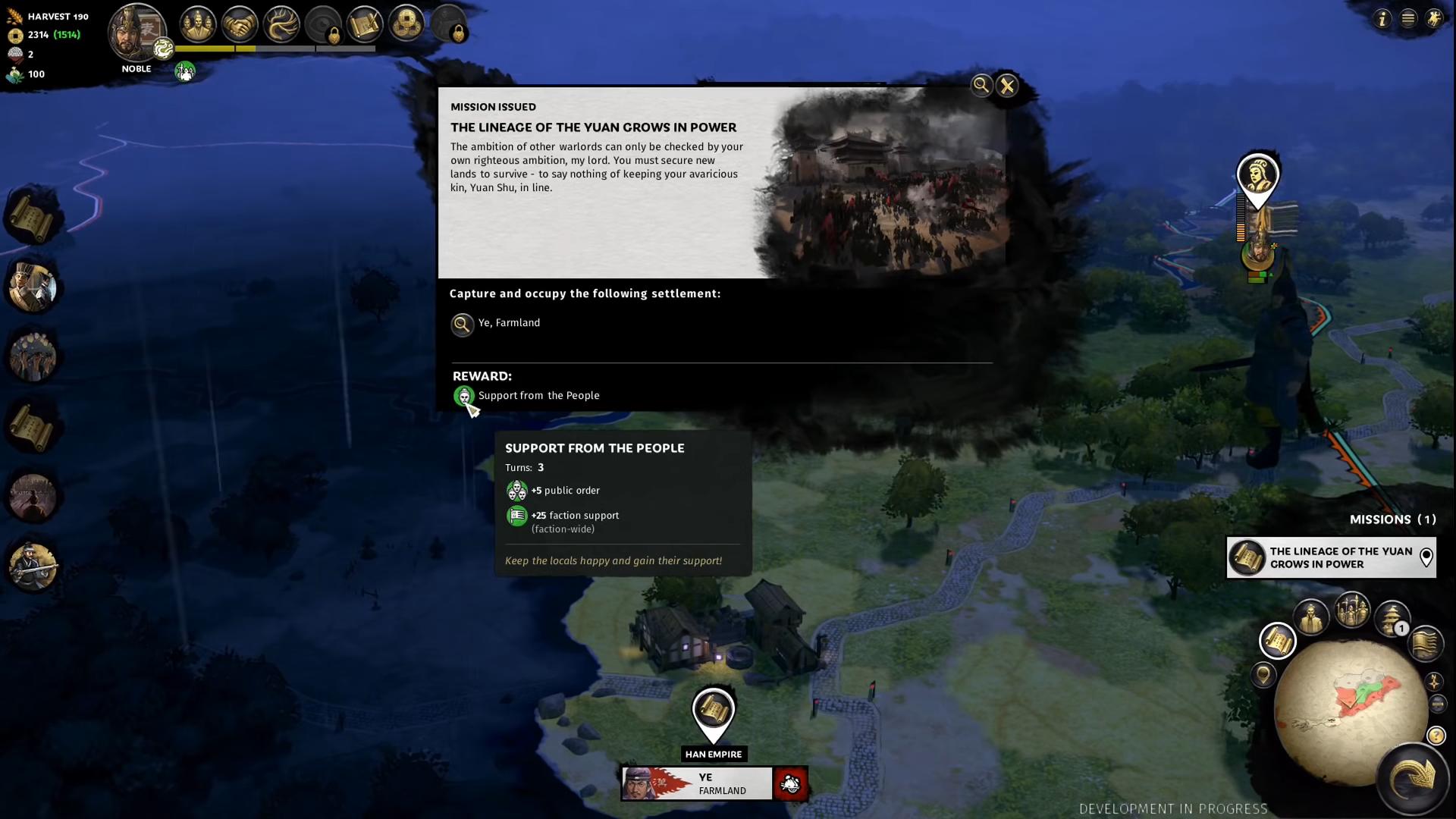 Mission (Total War: Three Kingdoms)