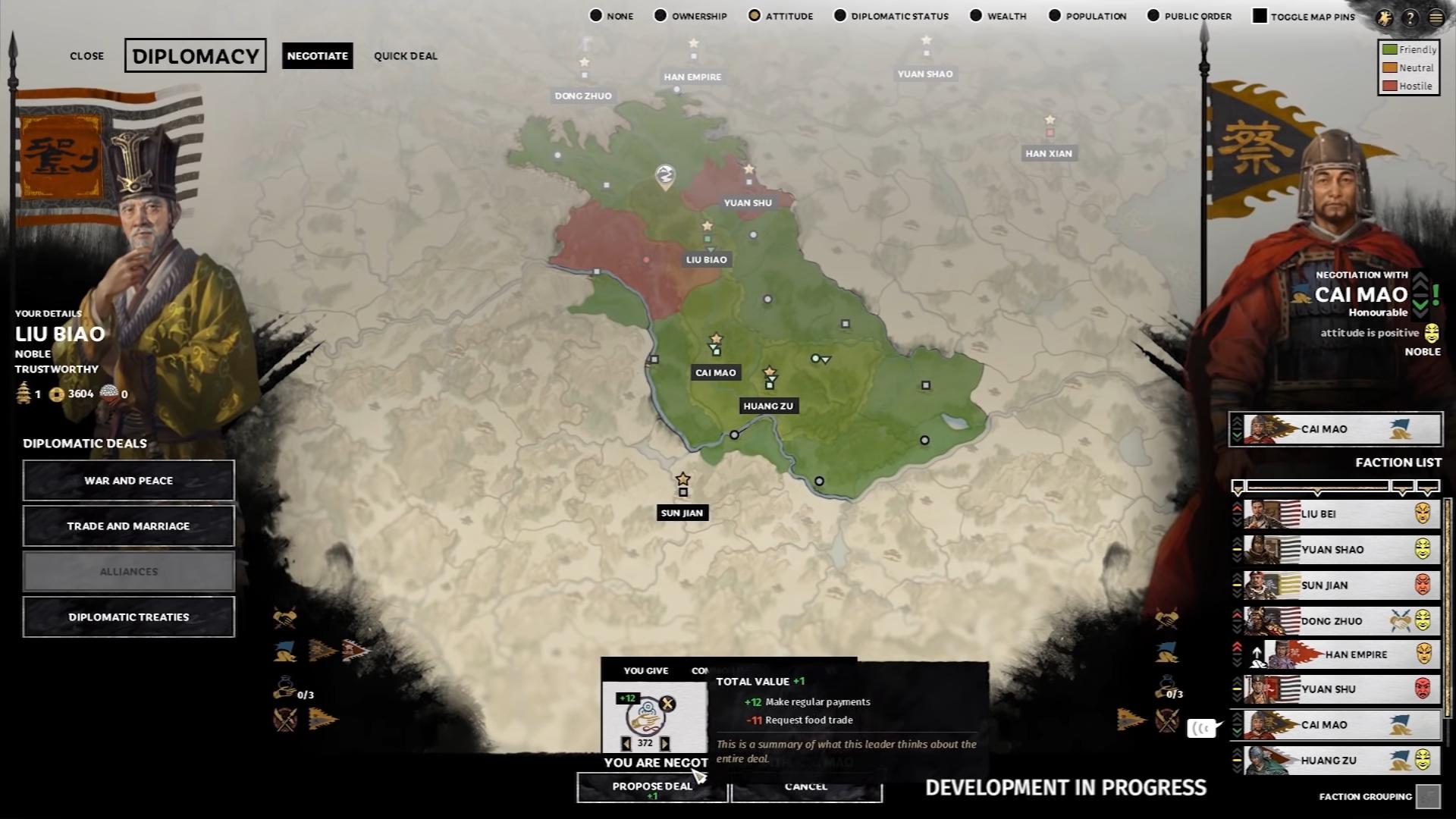 Diplomacy (Total War: Three Kingdoms)