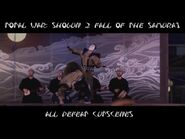 Shogun 2- Fall of the Samurai - All Defeat Cutscenes