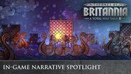 "Total War THRONES OF BRITANNIA - ""In-Game Narrative"" Developer Interview"